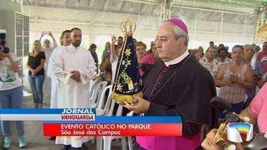 Parque da Cidade em São José recebe evento católico - Evento acontece neste fim de semana.
