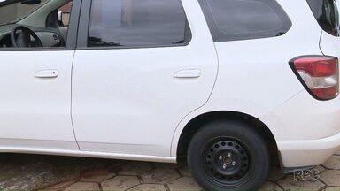 Guarda Municipal recupera táxi e moto roubados em Foz - Eles estavam com as placas adulteradas