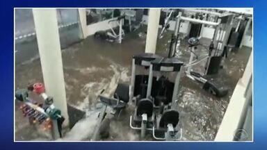 Temporal causa estragos em Santo Ângelo - Assista ao vídeo.
