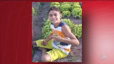Garoto morre afogado em lagoa no município de Livramento de Nossa Senhora - Renan Ramos dos Santos tinha dez anos e estava brincando no local com amigos.