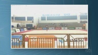 A ginasta Maria Eduarda está na fase final dos jogos escolares da juventude em Brasília - É a primeira vez que uma atleta de Rondônia chega nessa posição.