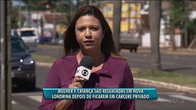 Mãe e bebê são mantidos em cárcere privado por dois meses em Londrina - Segundo a polícia, o suspeito de cometer esse crime é o próprio marido, pai da criança.