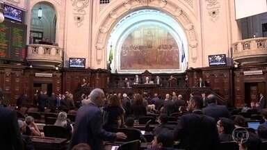 MP pede a anulação da votação que tirou da cadeia o presidente da Alerj - O Ministério Público do Rio de Janeiro pede a anulação da votação que tirou da cadeia os deputados estaduais Jorge Picciani, Paulo Melo e Edson Albertassi.
