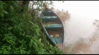 Pai e filho estão desaparecidos desde o fim de semana - O barco em que eles estavam virou no rio Chopim.