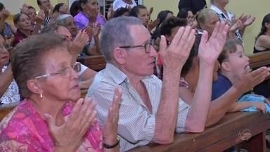 Devotos participam da missa de São José no bairro Seminário - Saiba mais em g1.com.br/ce
