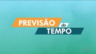 Tempo fica instável no Paraná - Curitiba deve ter pancadas isoladas de chuva.