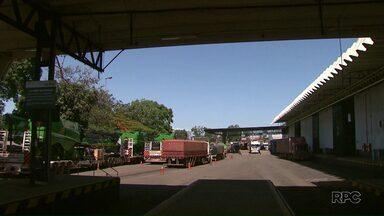 Operação Padrão atrasa liberação de cargas no Porto Seco de Foz - Reflexos da paralisação já podem ser percebidos nos pátios dos postos de combustíveis.