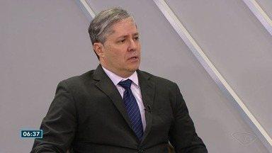 Doutor em Economia do ES avalia situação do estado e do país - Eduardo Velho é o novo economista chefe do Banestes.