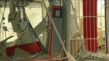 Roubos a caixas eletrônicos aumentam no Rio - A polícia acredita que quadrilhas de traficantes estão participando dos ataques.