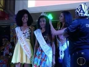 Nona edição do concurso 'Beleza Negra' é realizada em Montes Claros - Evento reuniu 400 inscritos.