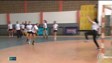 Time de handebol da escola São José representa o Piauí nos Jogos Escolares - Time de handebol da escola São José representa o Piauí nos Jogos Escolares