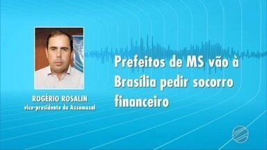 Prefeitos das cidades de MS embarcam rumo à Brasília em busca de recursos - Sem dinheiro extra, muitas prefeituras não terão condições de pagar as despesas, principalmente a folha de pagamento.