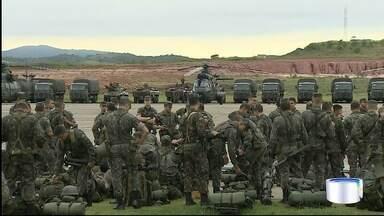 Militares fazem nove dias de exercícios no Vale a partir desta terça - São 4 mil homens de três estados.