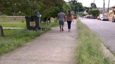Visitantes flagram falta de manutenção no Parque as Águas - Um telespectador flagrou a falta de manutenção no Parque das Águas, um dos principais pontos de lazer em Sorocaba (SP).
