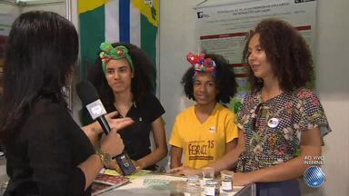 Estudantes da rede estadual participam de feira estudantil na Fonte Nova, em Salvador - Conheça alguns dos projetos que são destaques no evento.