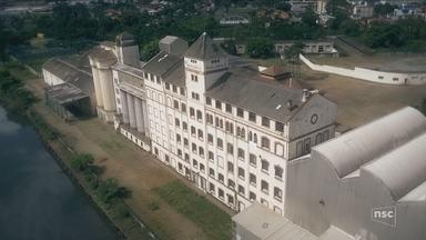 Prédio histórico de Joinville vai a leilão com lance inicial de R$ 12 milhões - Prédio histórico de Joinville vai a leilão com lance inicial de R$ 12 milhões
