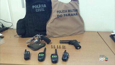 Operação prende suspeitos de comercializar lotes em áreas invadidas no sudoeste - Ao todo, três pessoas foram presas em Francisco Beltrão.