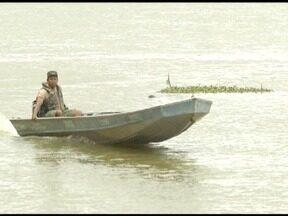 Durante período da piracema, fiscalização é intensificada nos rios do Norte de Minas - Objetivo é permitir que os peixes consigam se reproduzir em trechos de águas mais calmas; pesca está proibida até fevereiro de 2018.