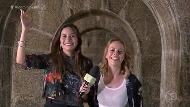 Fernanda Nobre comemora 25 anos de carreira - Atriz começou na TV Globo com apenas 8 aninhos e agora se prepara para viver a guerreira Diana em 'Deus Salve o Rei'