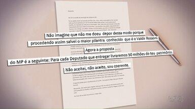 xclusivo: Paraná TV mostra cartas apreendidas na casa do ex-diretor da Alep, Abib Miguel - Supostos privilégios de Bibinho na prisão são relatados nas cartas.