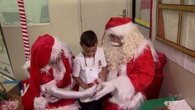 Começa a tradicional campanha de Natal dos Correios - Você pode ajudar o Papai Noel a presentar as crianças.