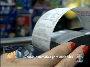 Consumidor pode escolher entidade para doação de créditos da Nota Fiscal Paulista - Transferência de valores é automática.