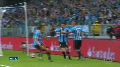 Comentarista do ES traz os destaques do esporte nesta quinta-feira (23) - Confira os principais gols da noite de quarta-feira (22) com o goleiro Paulo Sérgio.