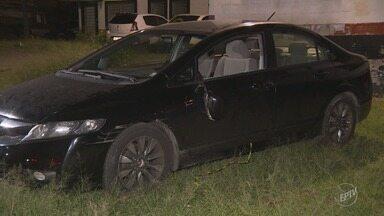 Dupla sequestra motorista para realizar saques em caixas eletrônicos de Hortolândia - Ação foi interrompida após testemunhas acionarem a polícia. Um homem acabou detido.