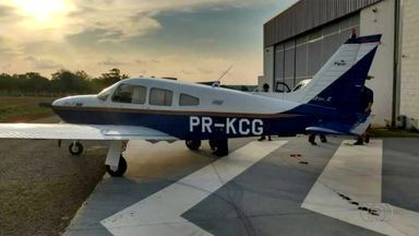 Três são presos após Polícia Federal flagrar avião com agrotóxico proibido - Três são presos após Polícia Federal flagrar avião com agrotóxico proibido