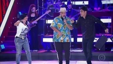 Adnight Show recebe convidado de Aruba - Gretchen se joga no ritmo caribenho