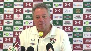 Livre da ameaça de rebaixamento, Fluminense se prepara para jogo contra Sport - Livre da ameaça de rebaixamento, Fluminense se prepara para jogo contra Sport
