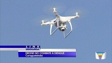 Caraguatatuba usa drone em ações de combate à dengue - Tecnologia é utilizada para monitorar casas de veraneio que ficam fechadas fora da temporada de verão.