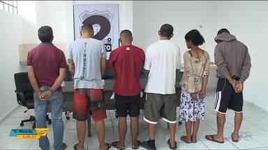 Seis pessoas são presas em operação para combater o tráfico de drogas - Foi ontem (27) em Curitiba.