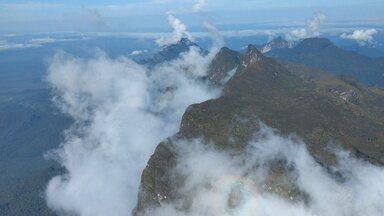 Estudiosos fazem pesquisa no Pico da Neblina em Santa Isabel do Rio Negro - Pesquisa teve apoio do Exército durante quase um mês.
