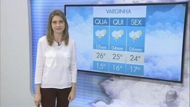 Confira a previsão do tempo para esta terça-feira (28) no Sul de Minas - Confira a previsão do tempo para esta terça-feira (28) no Sul de Minas