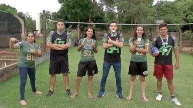 MS é campeão brasileiro de Flag football - A modalidade ganha cada vez mais força em todo o território brasileiro.