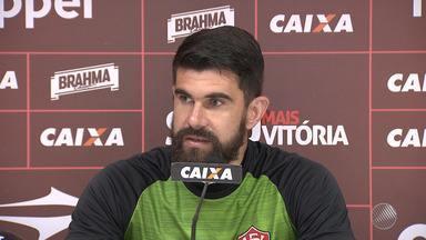 Vitória treina para jogo decisivo contra o Flamengo - Confira as notícias do rubro-negro baiano.