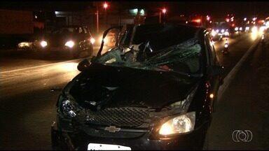 Duas pessoas morrem atropeladas em acidentes na BR-040 em Luziânia - Ocorrências aconteceram em menos de meia hora.