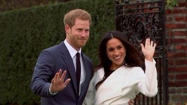 Veja como caminhos de príncipe Harry e Meghan Markle se cruzaram - Nobre do Reino Unido e atriz americana de Los Angeles anunciaram noivado e têm casamento marcado para o ano que vem. Conheça as histórias dos dois.