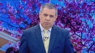 Dois jovens são mortos a tiros em frente a shopping em Florianópolis - Dois jovens são mortos a tiros em frente a shopping em Florianópolis