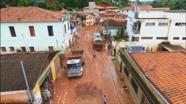 Governo Federal reconhece situação de emergência em 14 cidades atingidas por chuvas em MG - Governo Federal reconhece situação de emergência em 14 cidades atingidas por chuvas em MG