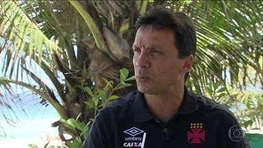 Zé Ricardo revela planejamento de reforços para o Vasco em 2018 - Confira entrevista com o técnico do clube carioca.