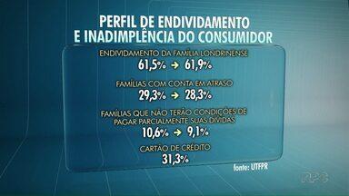 Confira o resultado da pesquisa da UTFPR sobre endividamento familiar em Londrina - Em relação à pesquisa anterior, o total de pesquisados em Londrina que declarou tem algum tipo de comprometimento da renda familiar apresentou aumento de 61,5% para 61,9%.