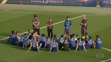 Grêmio já está nos Emirados Árabes para o Mundial de Clubes - Grêmio já está nos Emirados Árabes para o Mundial de Clubes