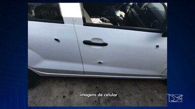 Bandidos roubam carro e trocam tiros com a polícia, em São Luís - Troca de tiro termina com dois feridos e dois adolescentes apreendidos pela polícia