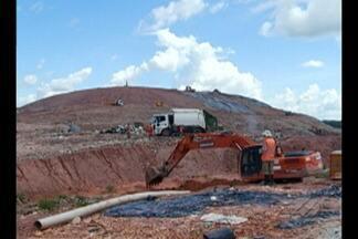 Funcionários de empresa que administra aterro tentaram enganar Secretaria de Meio Ambiente - Justiça já bloqueou mais de cem milhões de reais em bens para tentar reparar os danos ao meio ambiente.