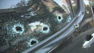 Homem é baleado dentro de carro na avenida Beira-Mar Norte, em Florianópolis - Homem é baleado dentro de carro na avenida Beira-Mar Norte, em Florianópolis