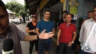 Moradores e comerciantes pedem reforço na segurança do Centro de Goiânia - Onde tem câmeras de segurança está conseguindo prender os criminosos.