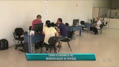 Campanha de renegociação de dívidas da Caixa vai até sexta-feira - Em Paranavaí a renegociação está sendo feita no Procon. Já em Umuarama e Cianorte nas agências da Caixa.