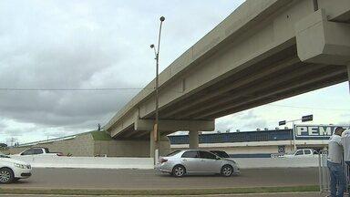 Viaduto da rua três e meio é inaugurado em Porto Velho - A inauguração há havia sido adiada três vezes.